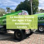La Gestión Central Del Agua Y Las Soluciones Locales. Foto portada. Infografía. Roberto d'Aubuisson. 2021