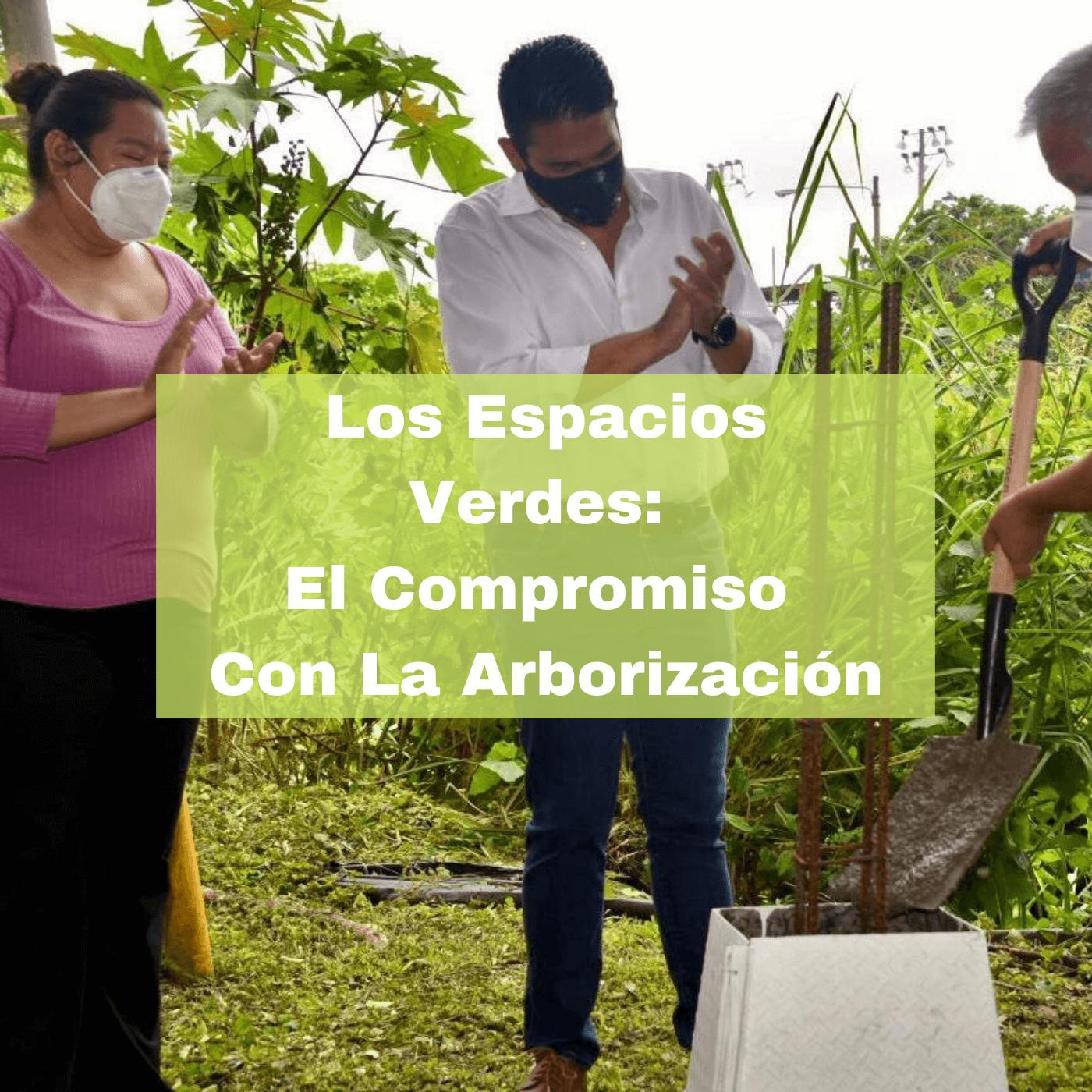 Los Espacios Verdes El Compromiso Con La Arborización. Foto portada. Infografía. Roberto d'Aubuisson. 2021